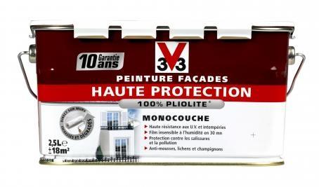 peinture facade haute protection v33