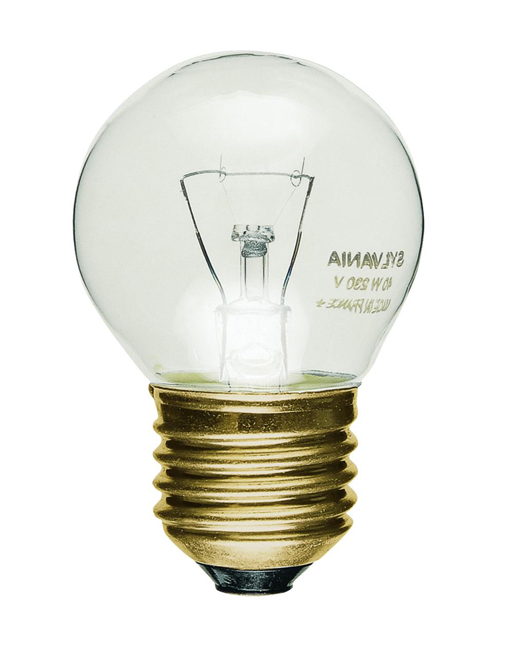 ampoule Sphrique E27 claire sylvania