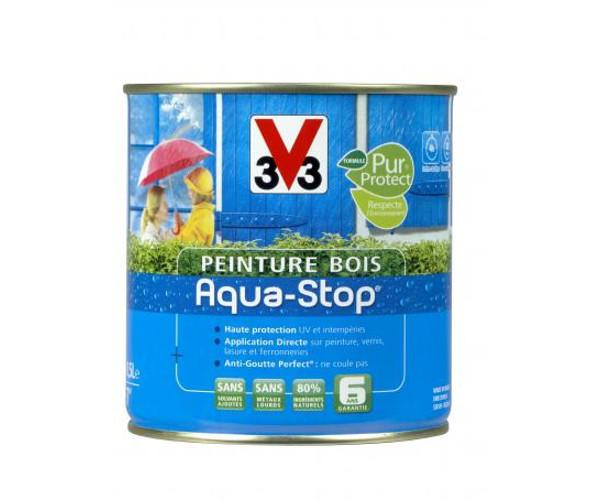 peinture bois v33 aquastop